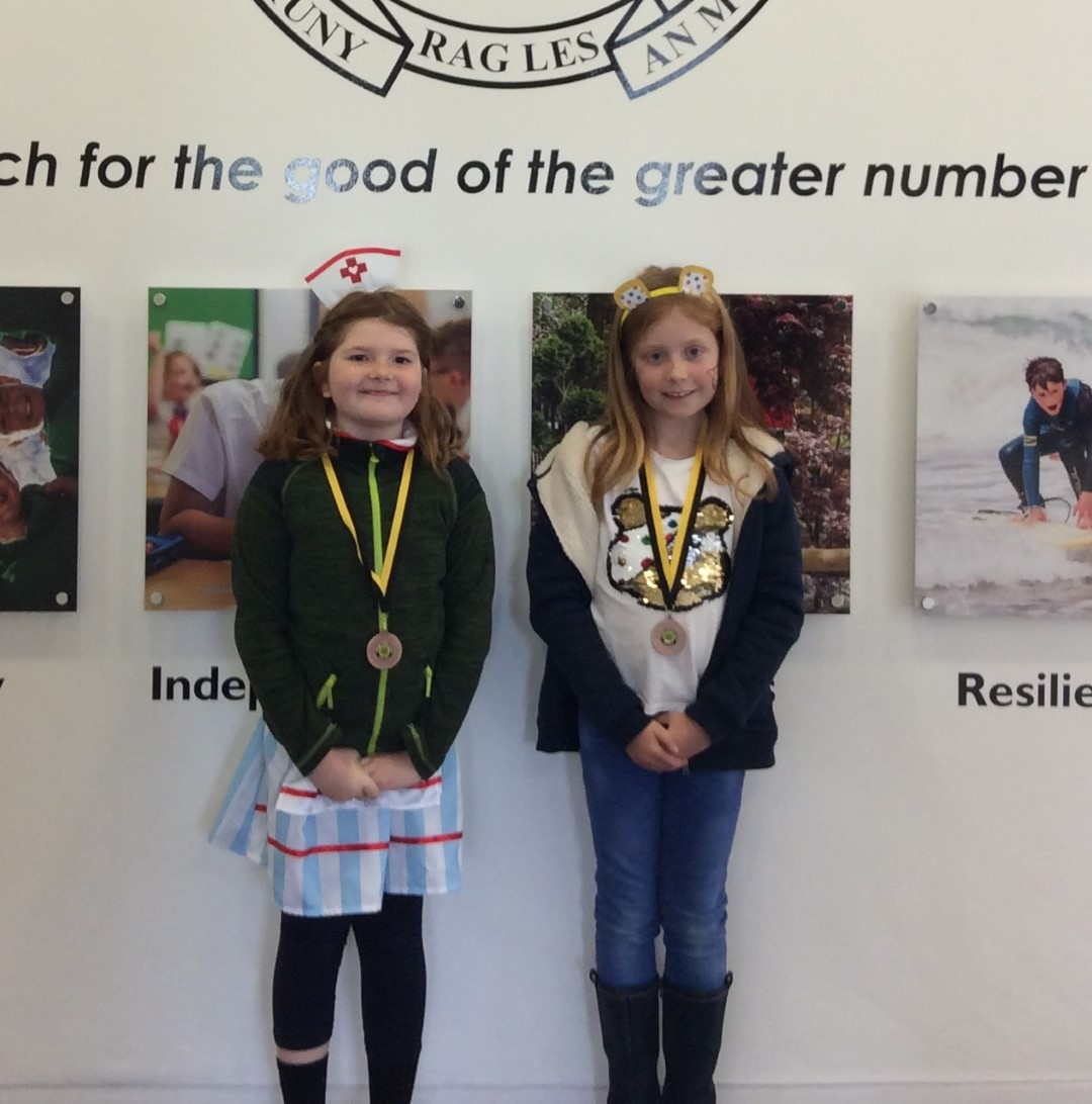 Yellow Certificate and Medal Winners – 13th November 2020