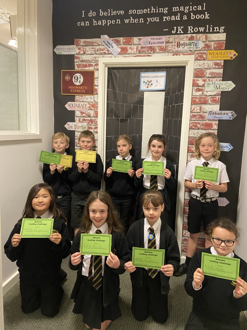 5MM – Reading and Homework Achievements