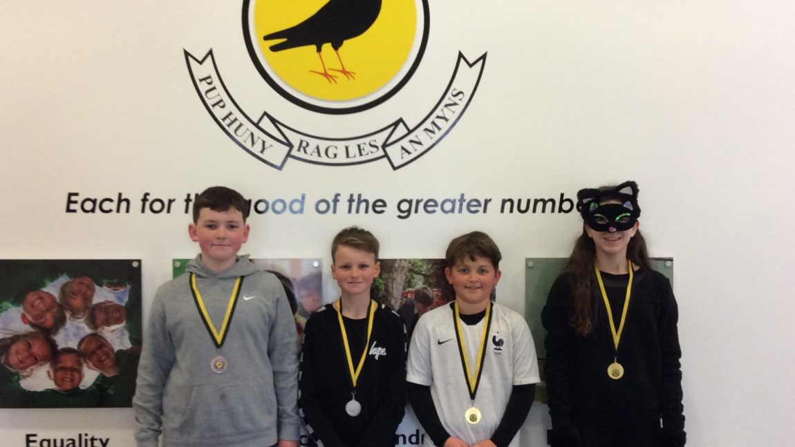 Yellow Certificate and Medal Winners – 19th March 2021