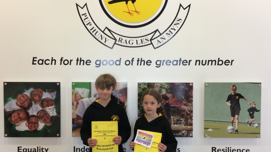 Yellow Certificate and Medal Winners – 21st May 2021