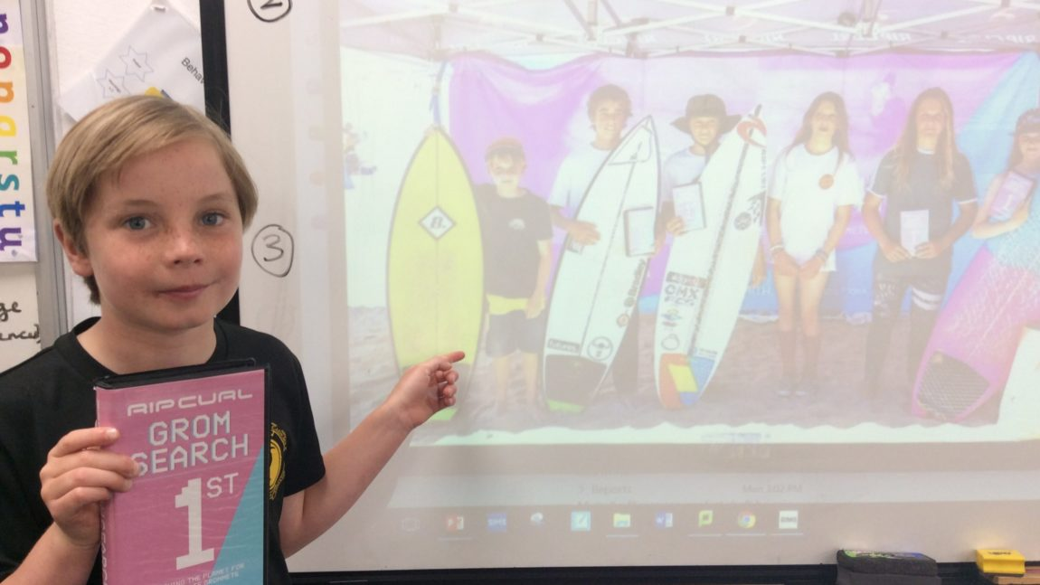 The Rip Curl Grom Search Surf Competition