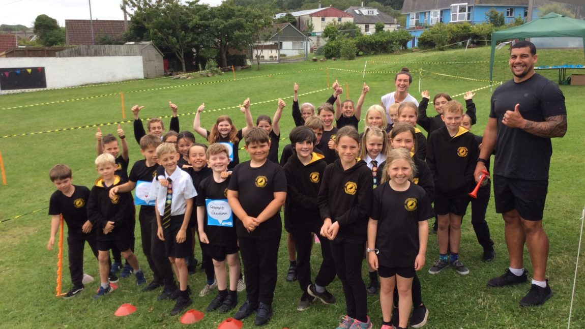 Race for life Schools: a special guest