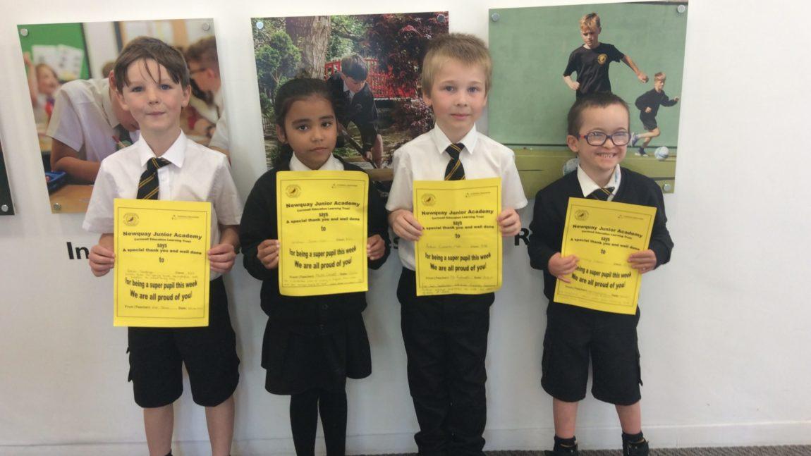 Yellow Certificate & Medal Winners.