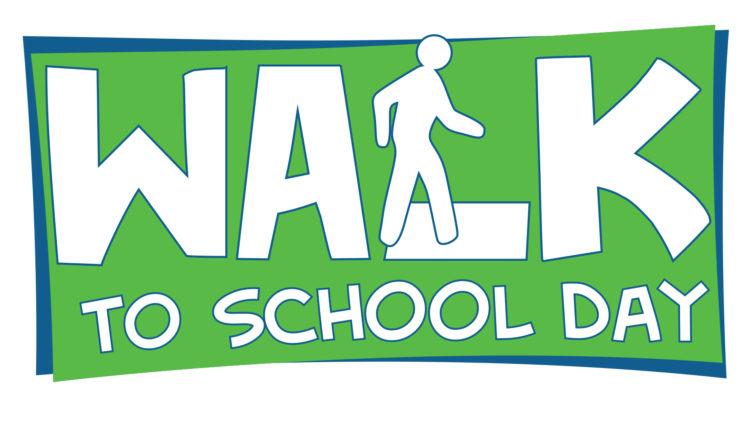 International Walk To School Day!